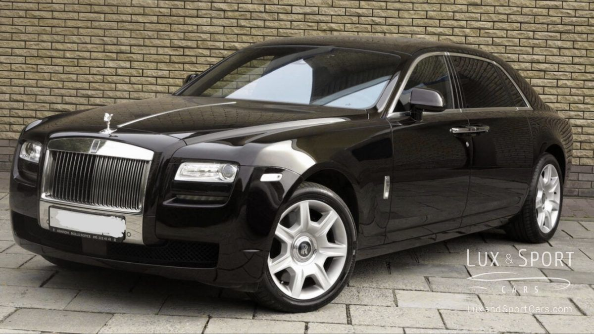 Rolls Royce Ghost Extended Hand Made